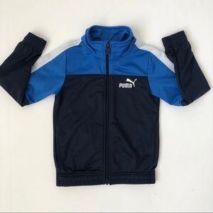 Puma Blue/White Track Jacket - Size 5 Boys